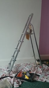 Chris's new 'domestic' step ladders.