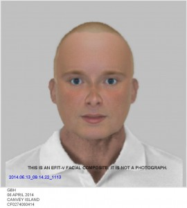 Police Release Efit to Find Canvey Pub Attacker