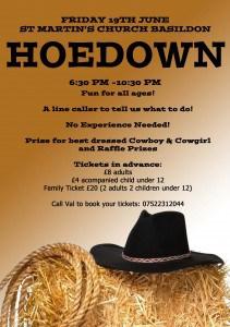 HOEDOWN A5 Flyer2