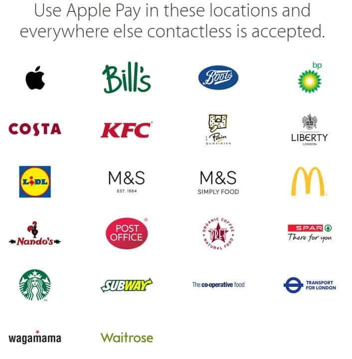 ApplePayRetailers