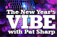 The New Year's Vibe Logo