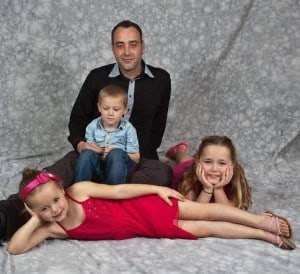 Ron and kids 1