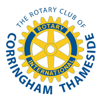 Rotary Club of Corringham Thameside Logo