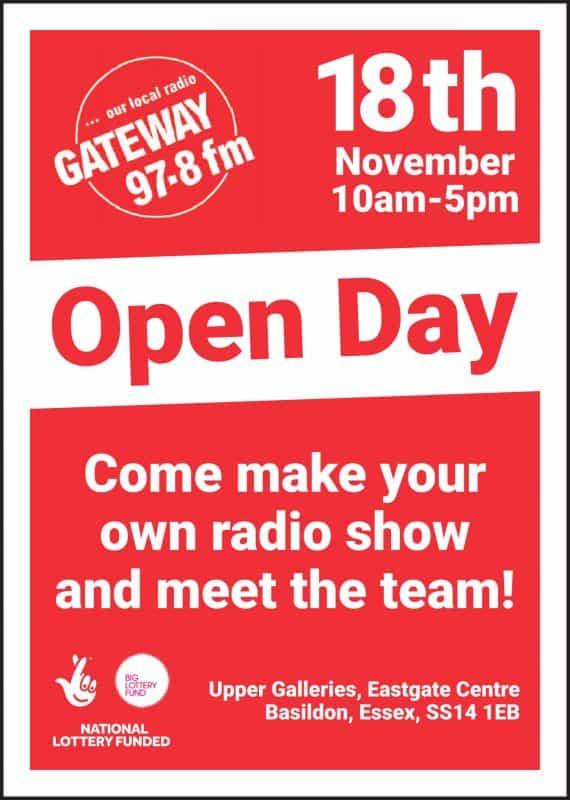 November 18th Open Day 2017