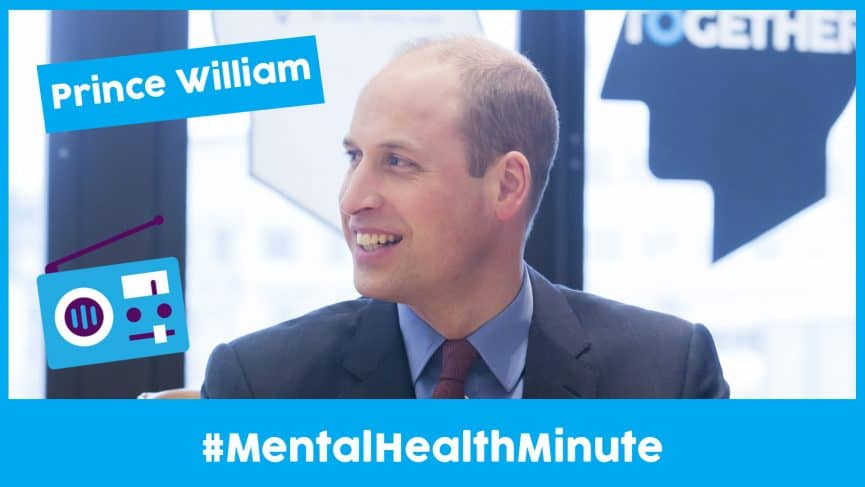 Prince William Shares a Mental Health Message Alongside Katy Perry