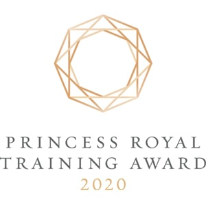 Princess Royal Training Award Logo