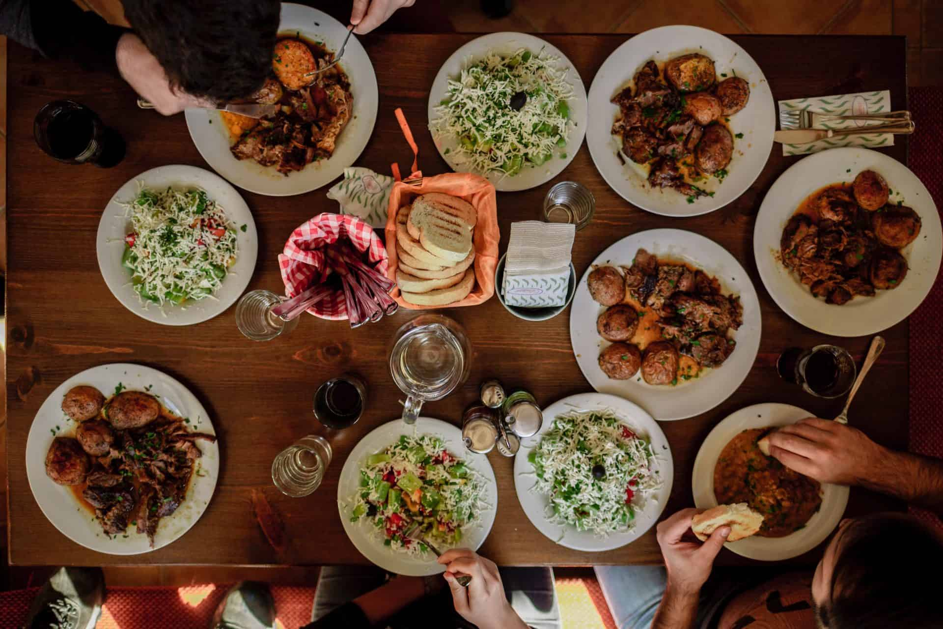 """Featured image for """"Dinner table conversations creating connections for families"""""""