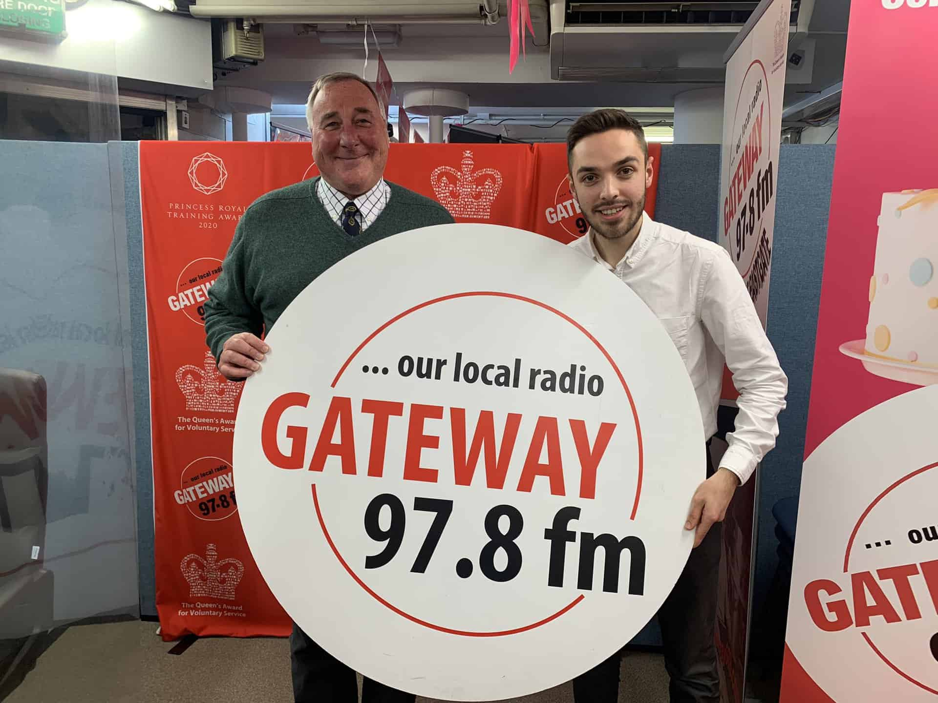"""Featured image for """"High Sheriff of Essex Simon Brice visits Gateway 97.8"""""""